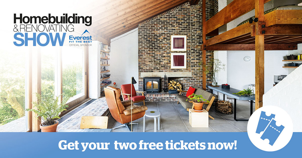 Register for FREE tickets to the Homebuilding & Renovating Show