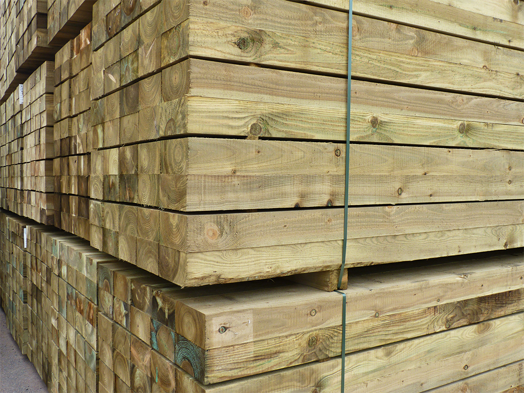 Softwood Railway Sleepers